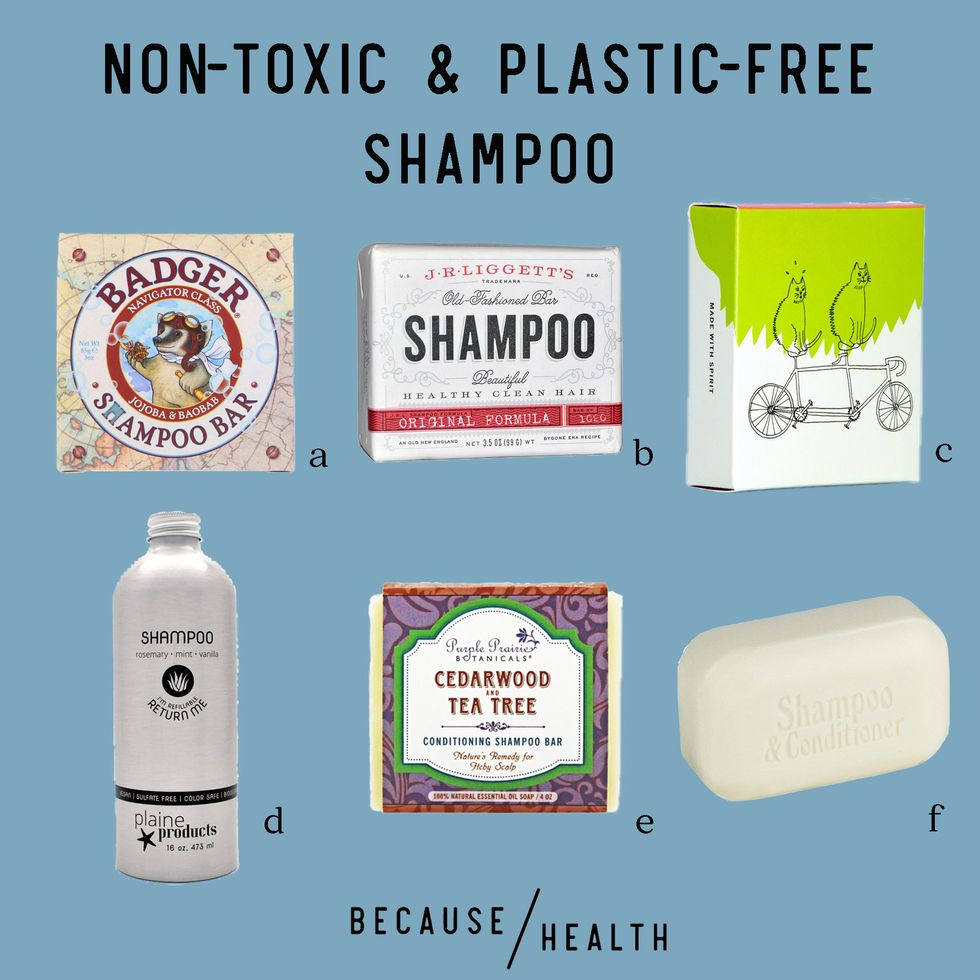 6 Non-Toxic and Plastic-Free Shampoos
