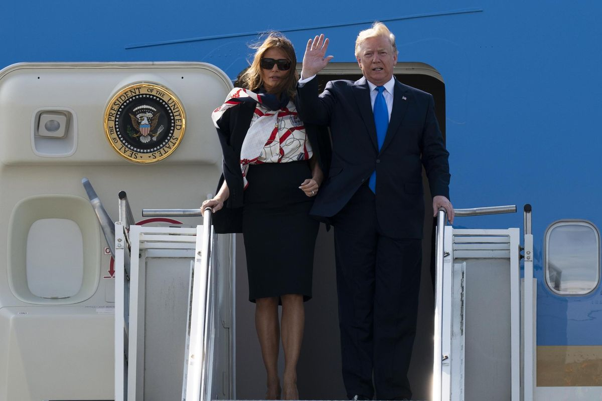 Trump arriva a Londra e già si becca del fascista