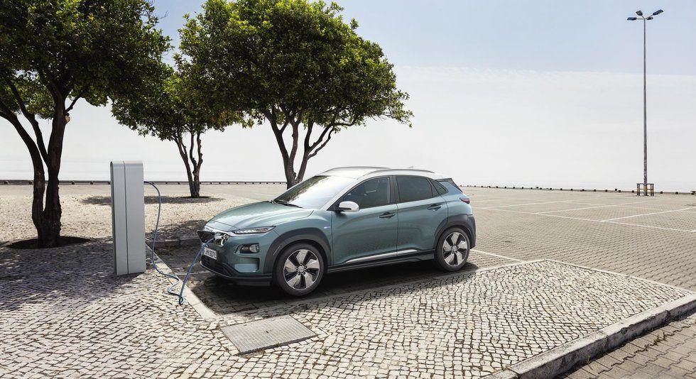 Photo of the Hyundai Kona electric car