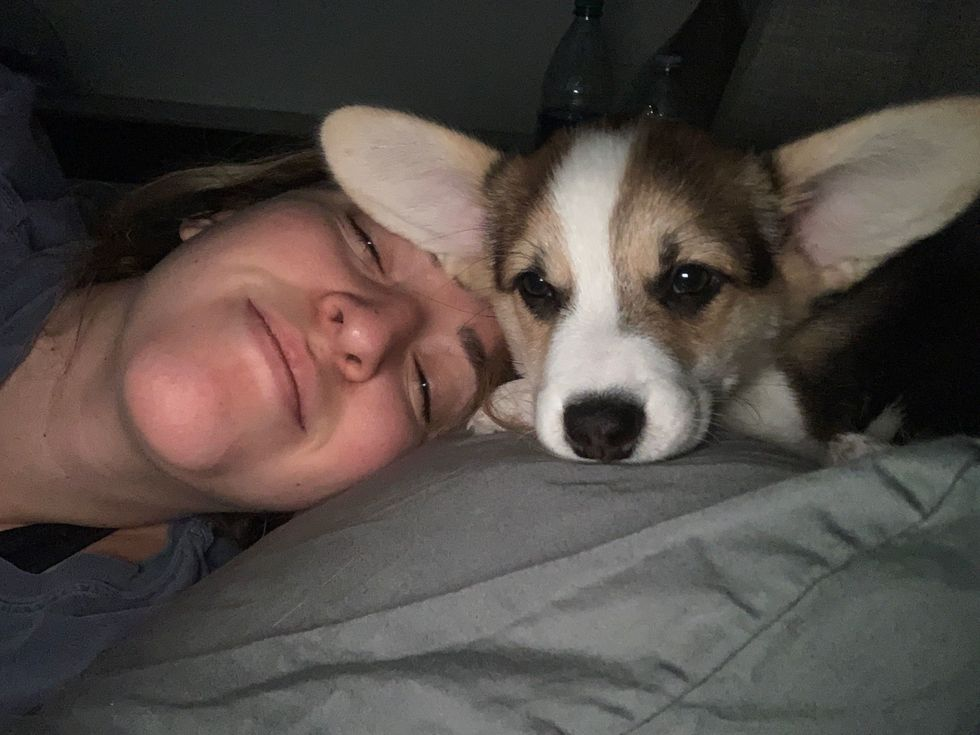 10 Thoughts You Have If Your Dog ~Lets~ You Sleep In Your Own Bed With Them