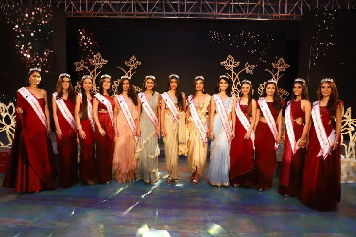 Miss India Beauty Pageant Criticized for Lack of Diversity