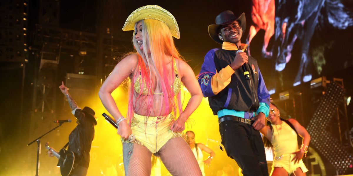 Cardi B Performed 'Old Town Road' With Lil Nas and Billy Ray