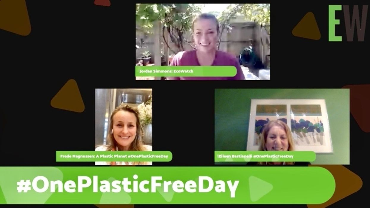 WATCH: Inspiring You and 1 Billion People to Take Part in One Plastic Free Day