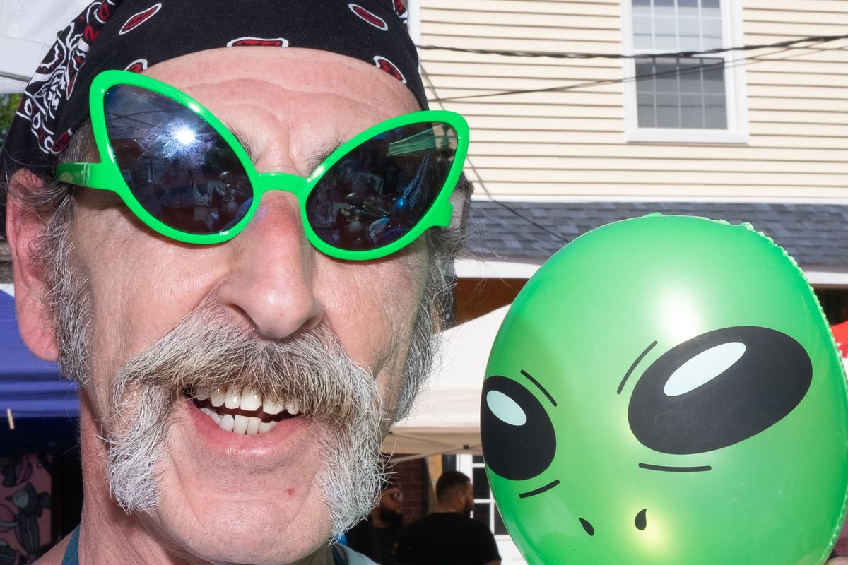 UFO Fair Draws Hundreds of Believers