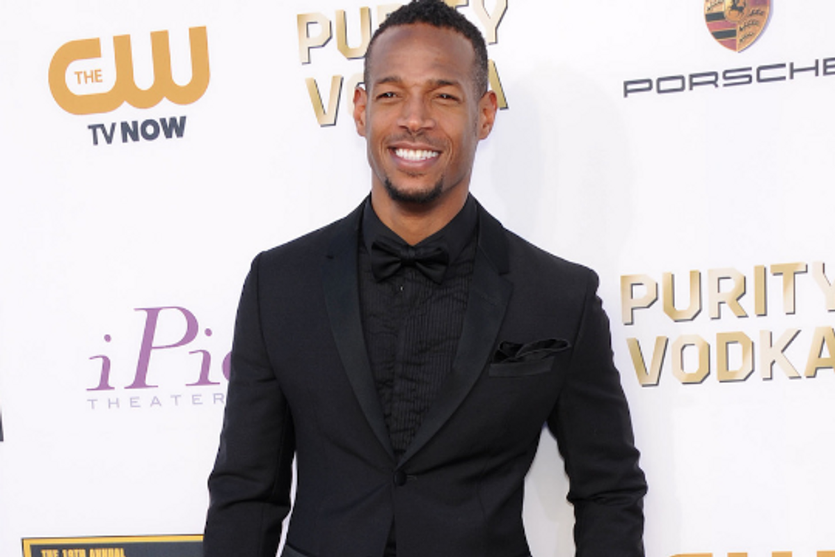 Marlon Wayans shut down homophobic troll who said his daughter is 'too young' to be gay.