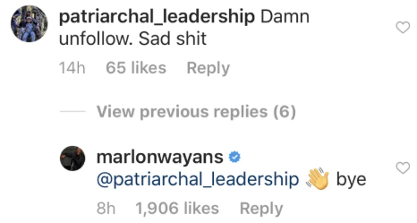 Marlon Wayans shut down homophobic troll who said his daughter is 'too young' to be gay. - Upworthy