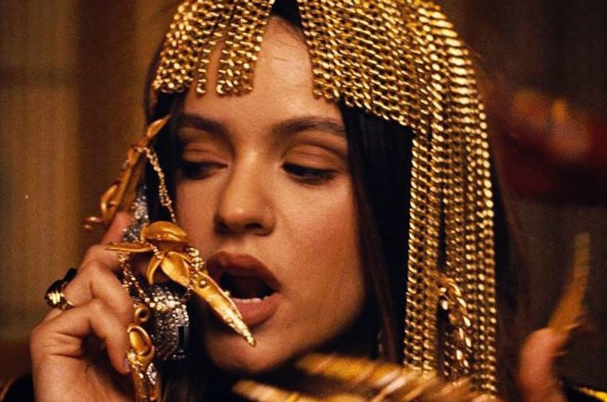 The Nail Artist Behind Rosalía's Gilded Claws in 'Aute Cuture'