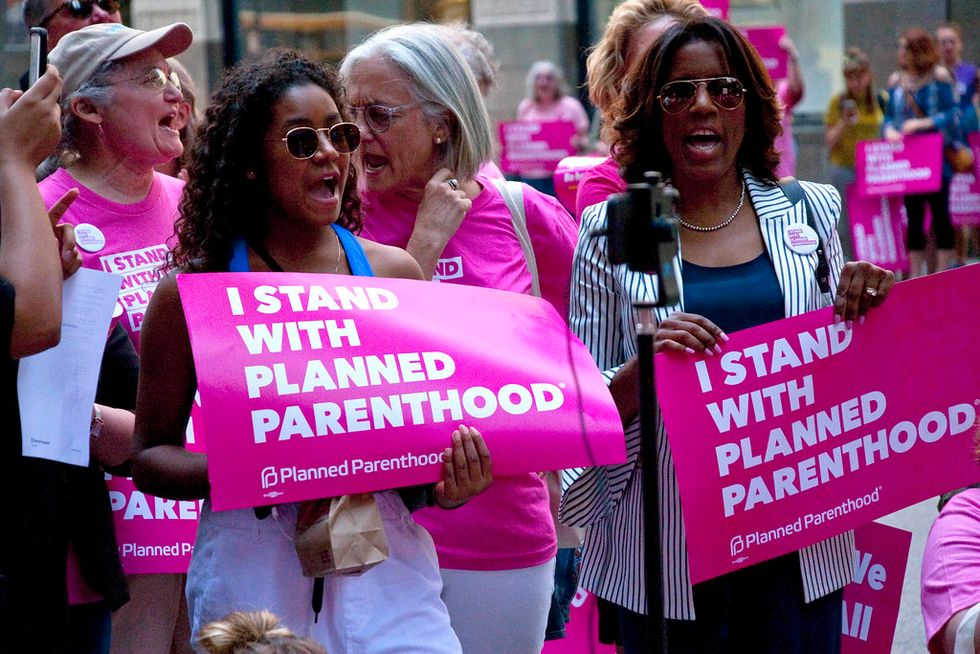 I Will Gladly Walk You Through A Crowd To Planned Parenthood