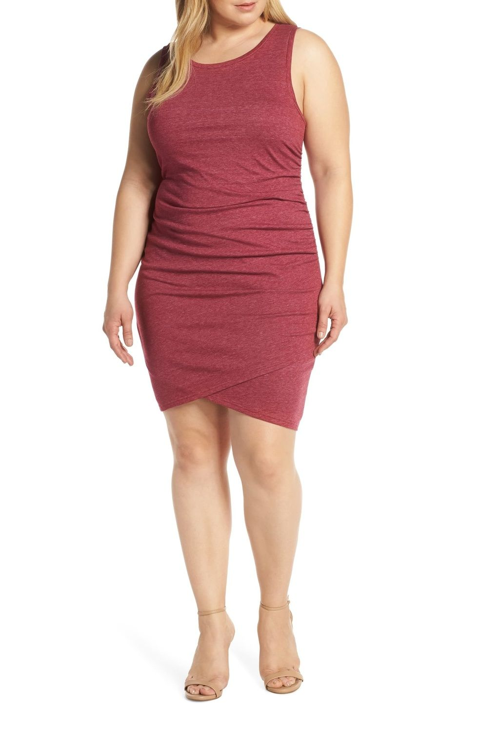 Leith Ruched Sheath Dress