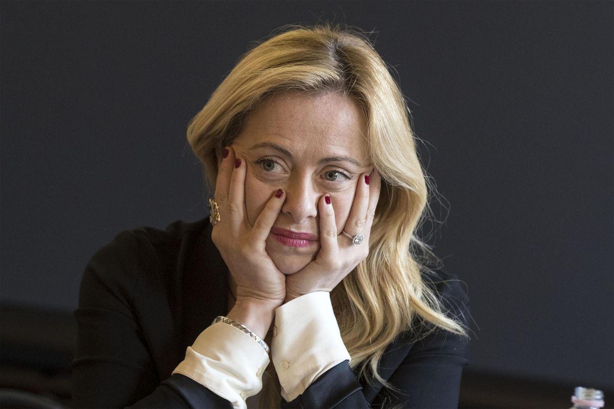 Giorgia Meloni: «Se cade il governo faranno di tutto per impedire il voto»