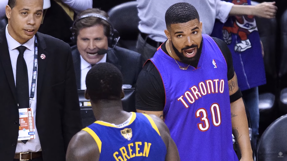 The Toronto Raptors Hope To Break Drake's Curse, But Fall Short In The Second Game Of The NBA Finals