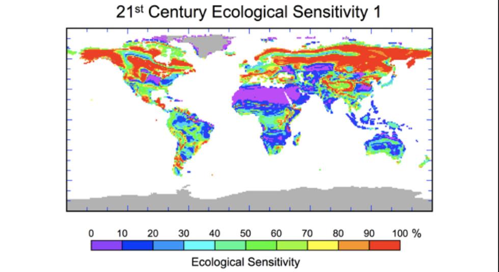21st century ecological sensitivity