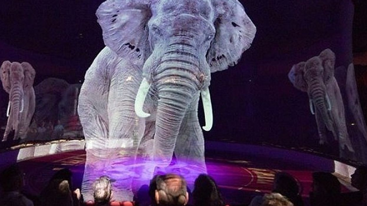 German circus uses 3D holograms instead of real animals