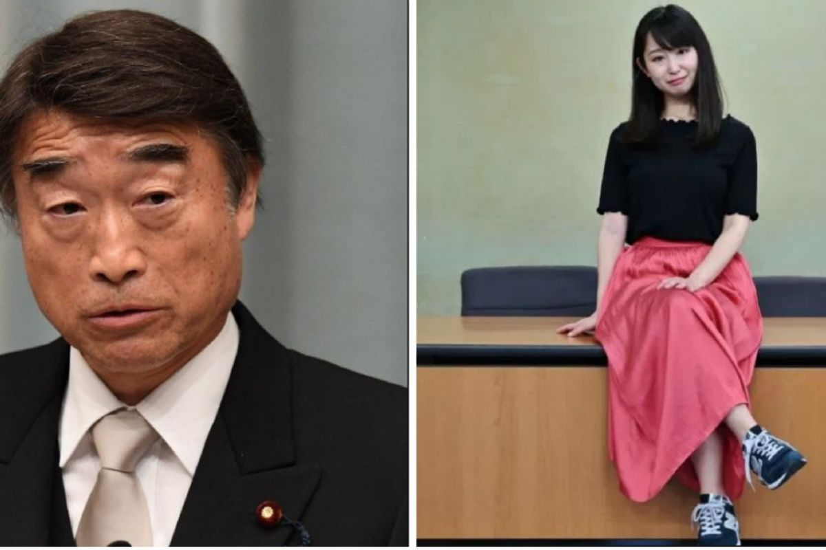 "Japanese women are fighting their country's insanely sexist high heels ""dress code."""