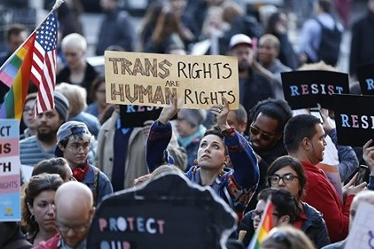 The World Health Organization no longer classifies being trans as a 'mental illness.'