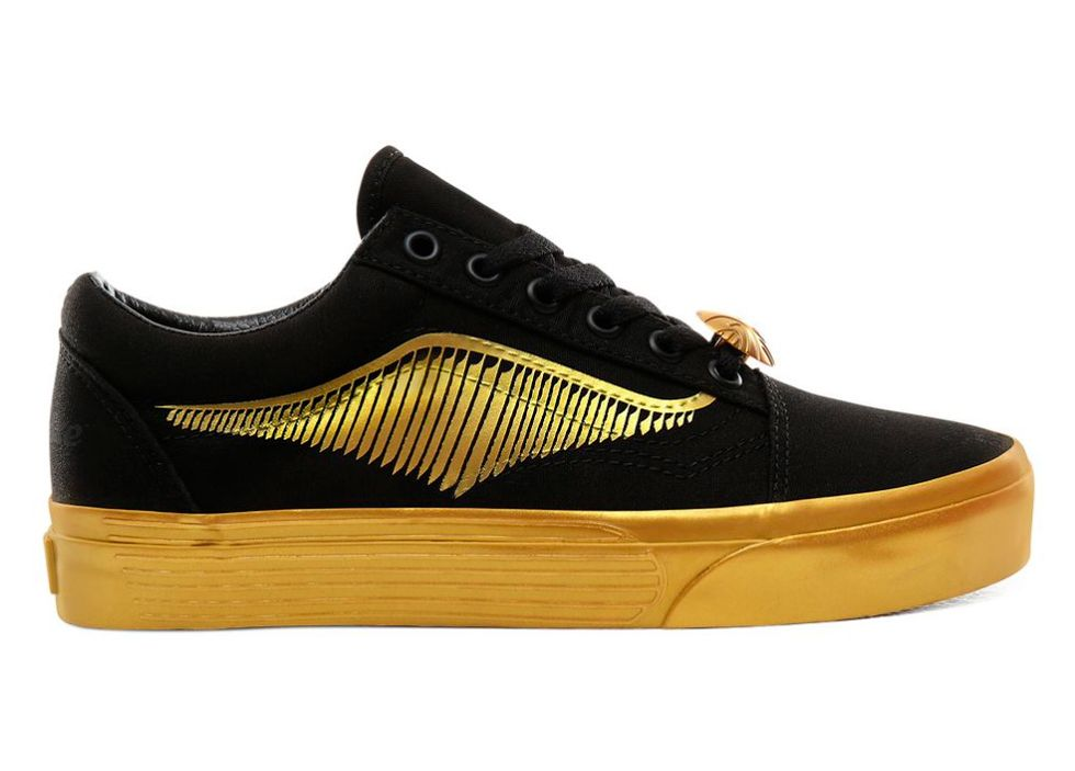 vans harry potter zapatillas snitch doradas