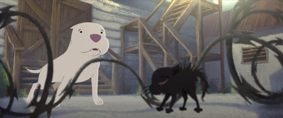 Pixar's 'Kitbull' Is An Animated Short Filled With Heartfelt Lessons