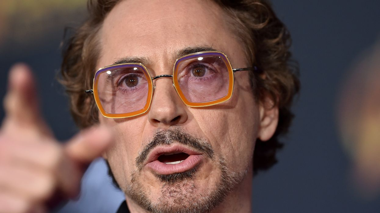 Robert Downey Jr. plans to 'clean up the planet' with A.I.