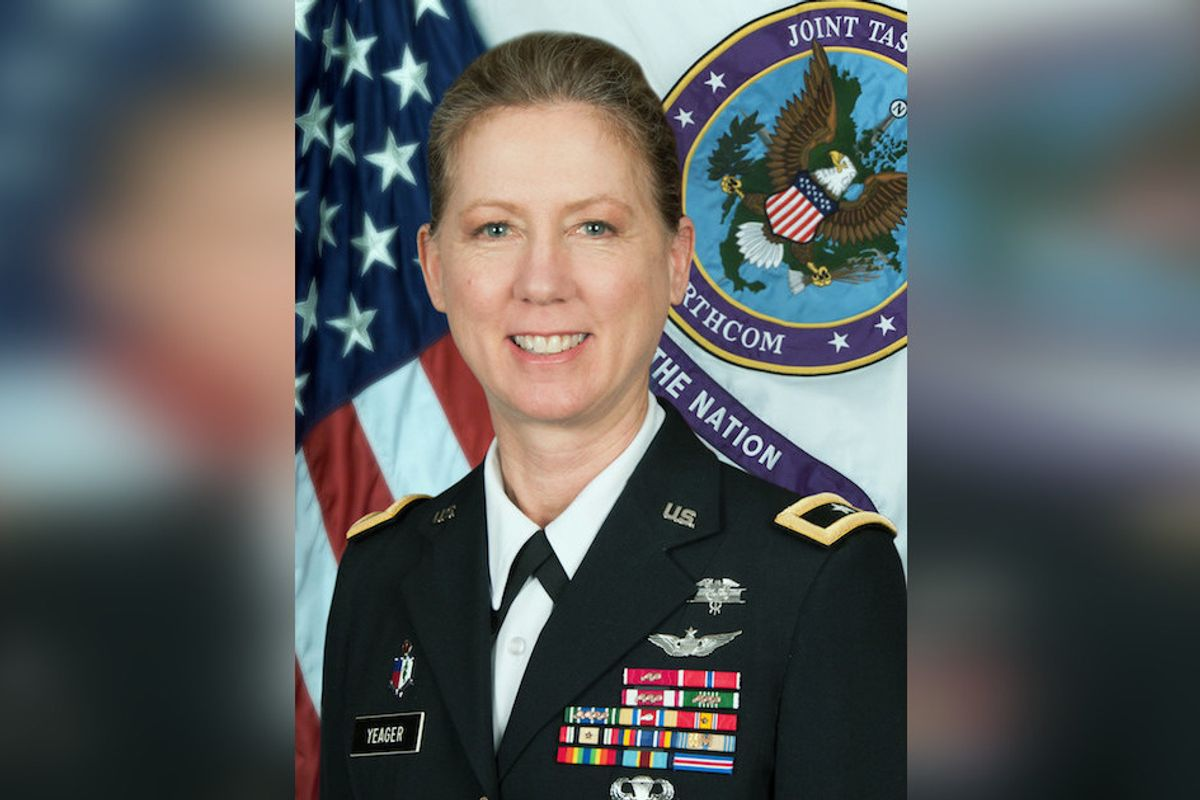 Army Selects First Female General To Command Infantry