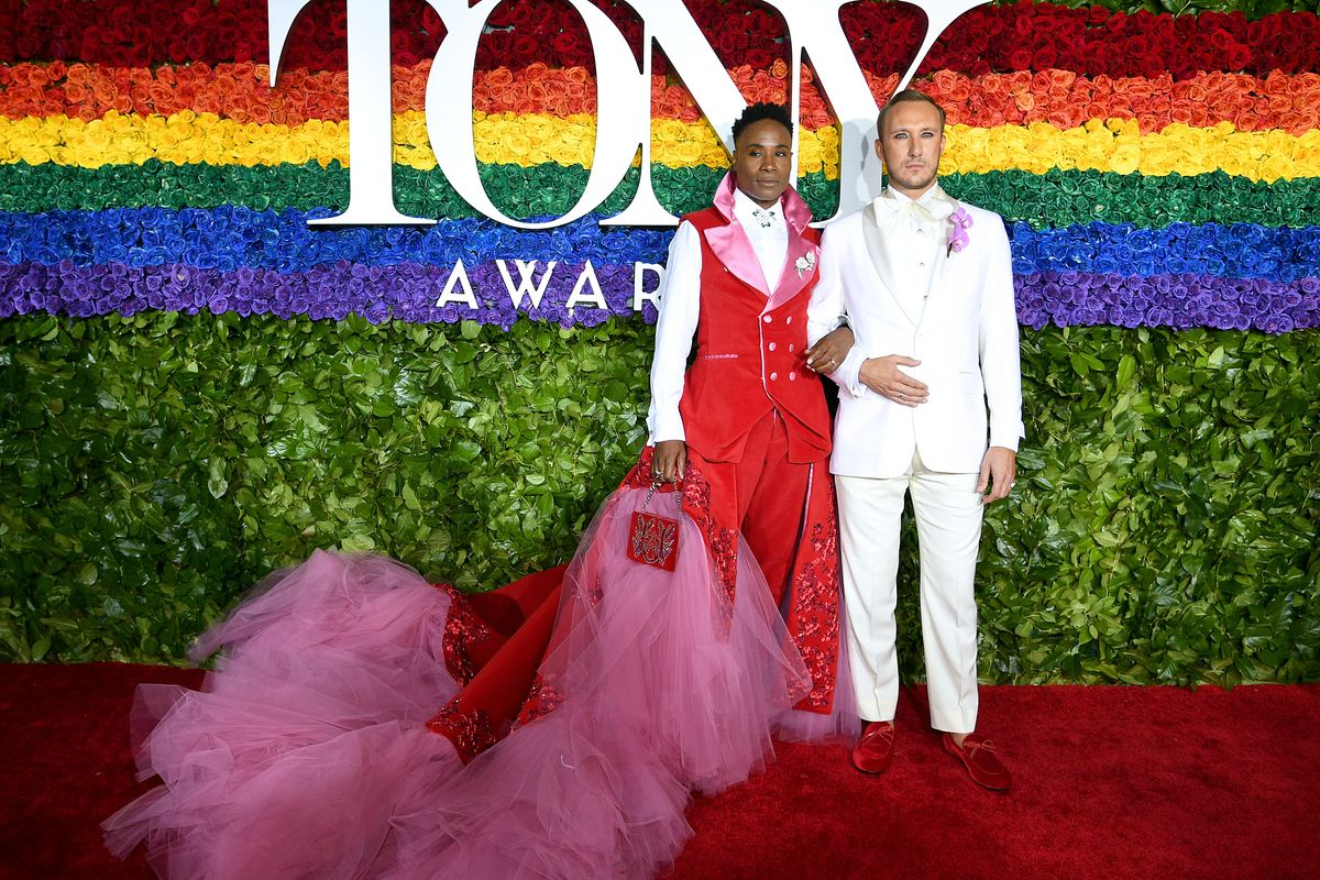 The Best Looks from the Tony's Rainbow-Themed Red Carpet