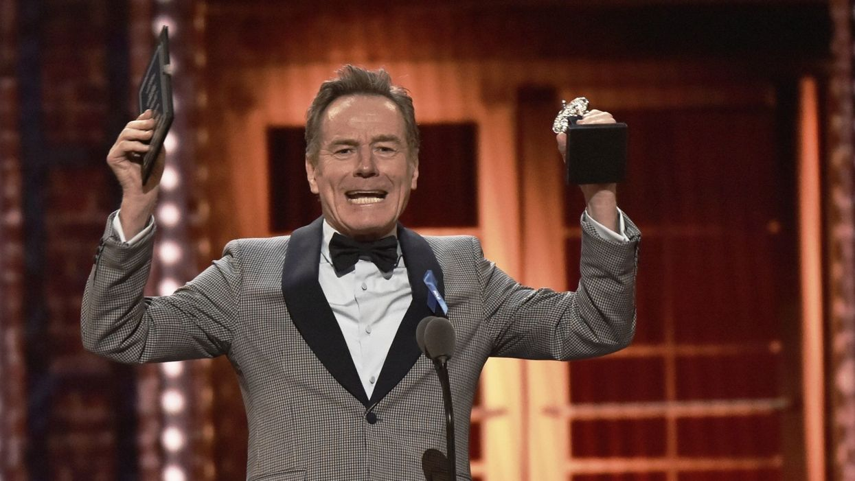 Bryan Cranston's Tony Award speech: Demagoguery is real 'enemy of the people'