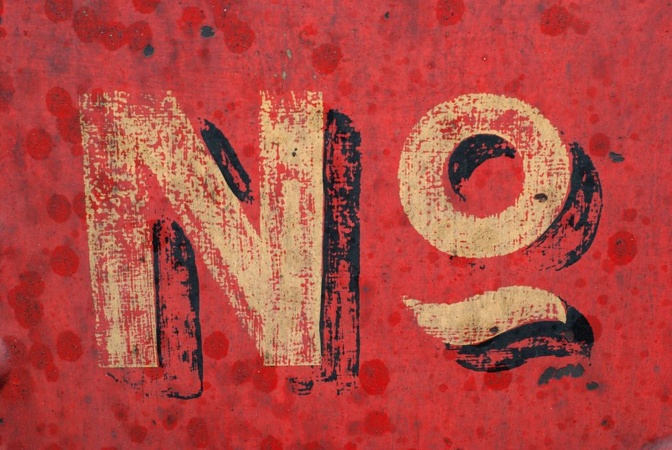Why You Should Say 'No' More Often