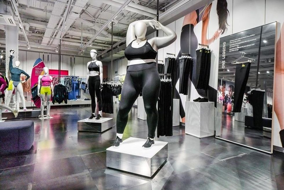 Nike's Plus-Size Mannequin Has Become A Plus-Size Issue On Social Media