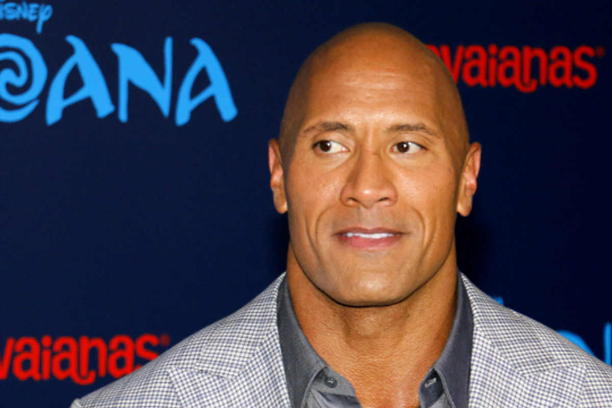 Dwayne 'The Rock' Johnson takes down pool pic of his daughter after being dad-shamed.