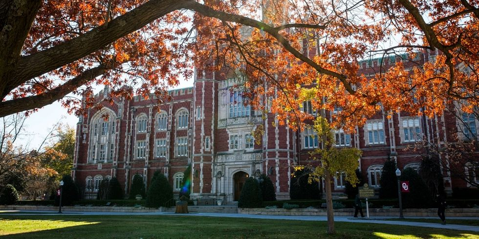 Fall In Love With OU In Fall