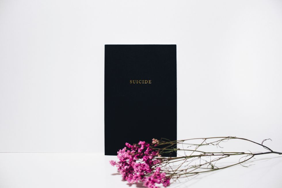 My Suicide Poem That Helped Me Heal