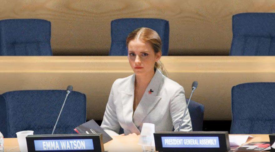Эмма Уотсон, политика без мужчин