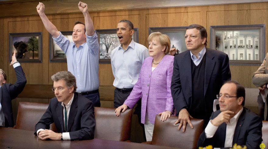 Ангела Меркель, политика с мужчинами