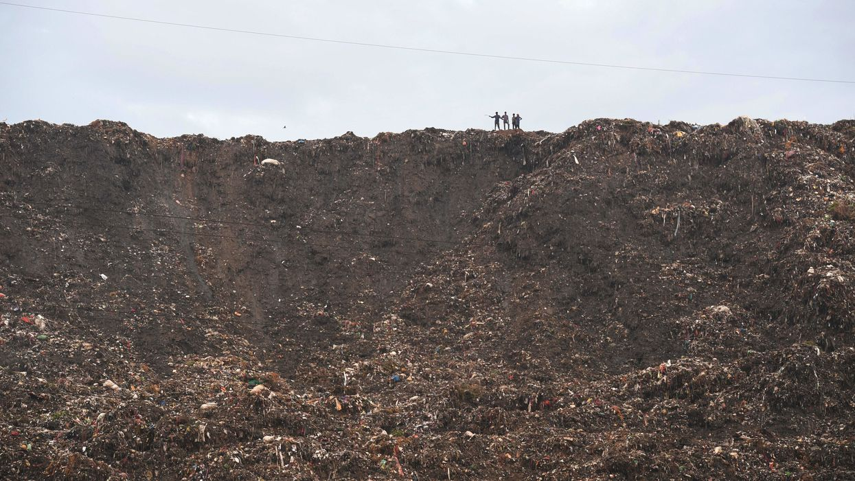 Just how big is India's 'Mount Everest of Trash'?