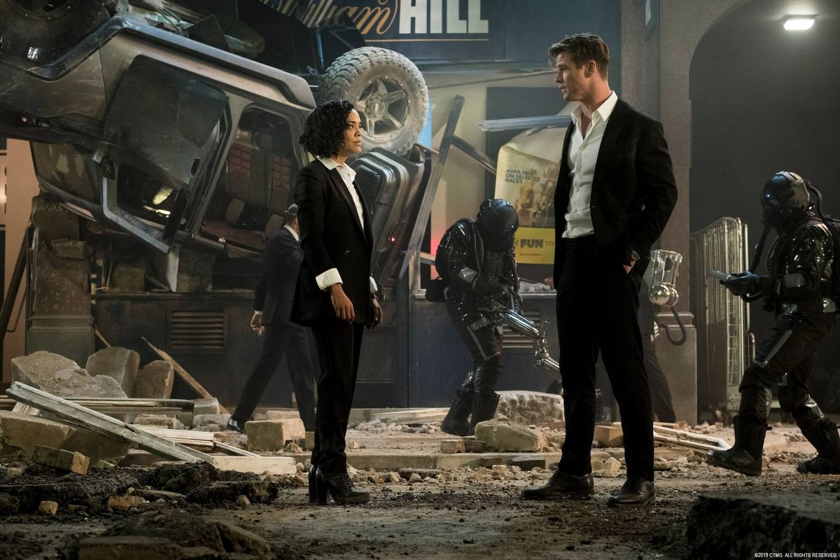 At Least 'Men In Black: International' Spared Us A Straight Love Story