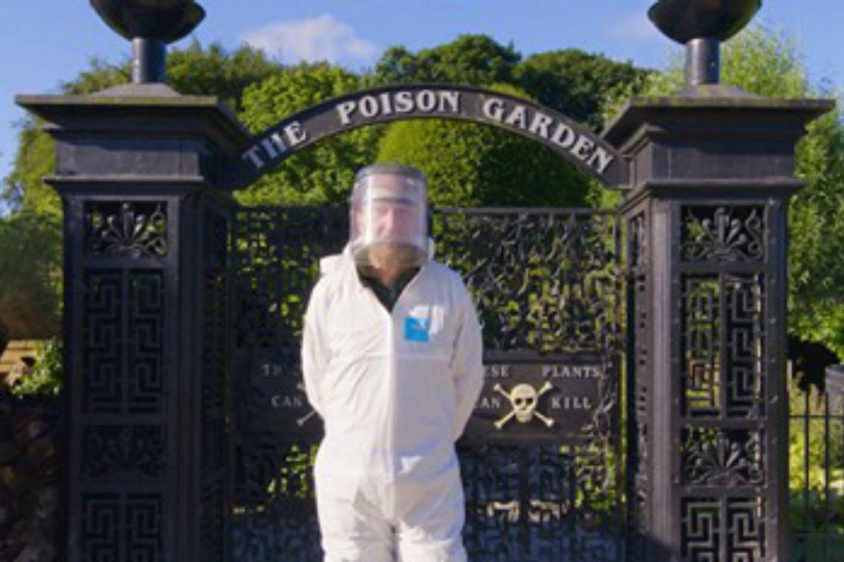 The world's deadliest garden lies inside an ancient English castle.