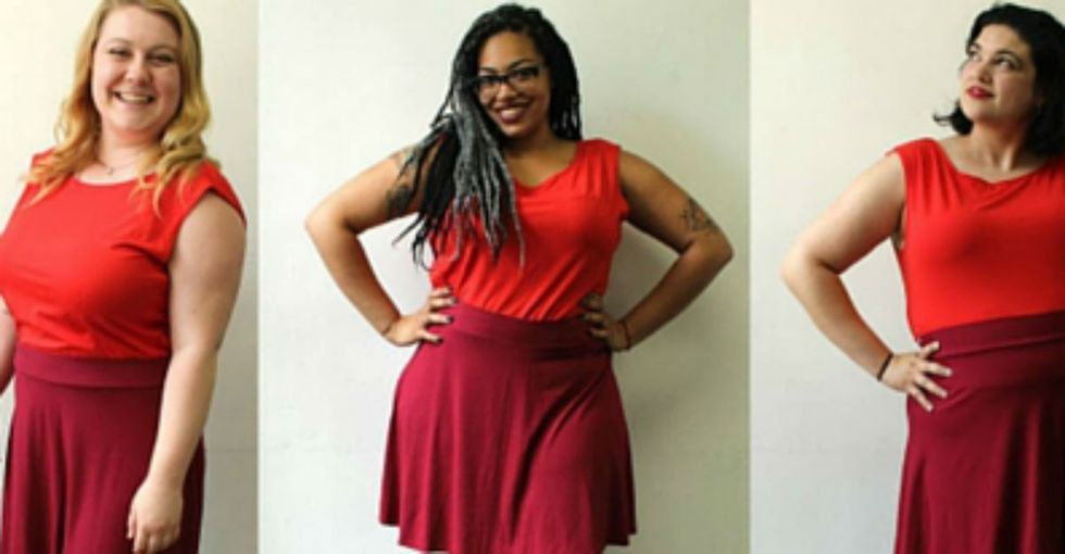 60 models. 12 sizes. One photo project to change how we view the human body.