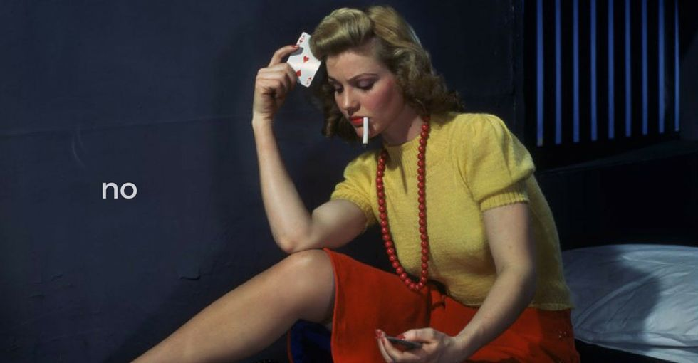 Witness the sorrow of teens realizing that old cigarette commercials were kinda outright lies.