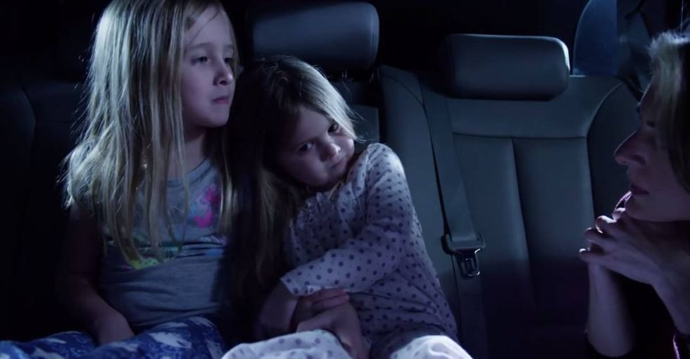 They woke up to sirens. Thanks to foster parents, they're falling asleep to a reassuring voice.