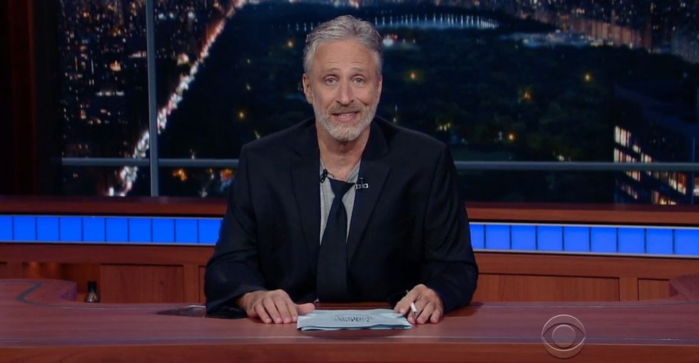 Jon Stewart nails why there's no 'real America' in perfect Jon Stewart fashion.