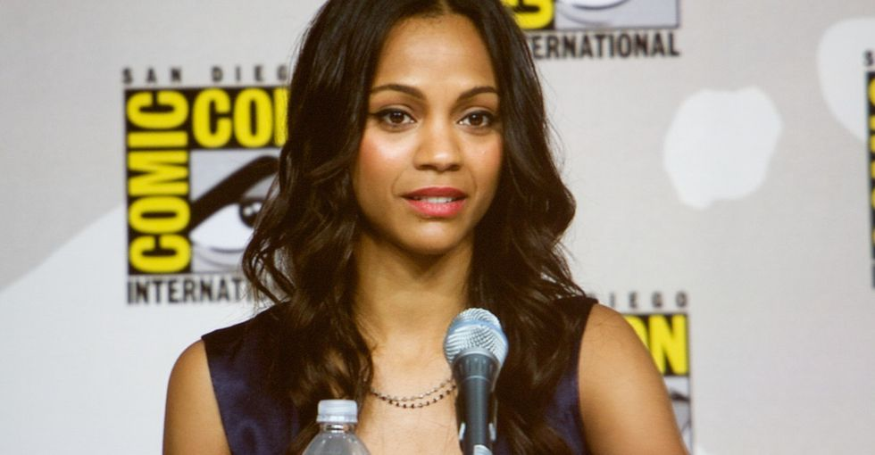Zoe Saldana just called out her Hollywood bosses for panicking about her pregnancy.