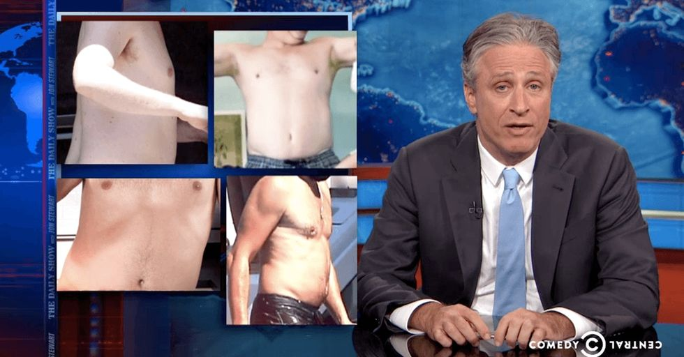 'The Daily Show' rightly tears apart the 'dadbod' trend.