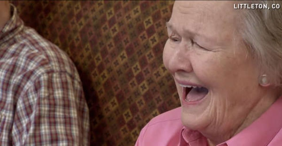 Watching little pigs surprise nursing home residents is just as adorable as it sounds.