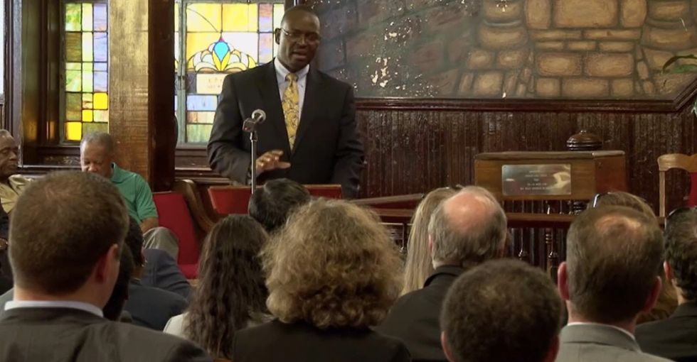 In the wake of the terrible tragedy in South Carolina, a pastor's words are worth remembering.