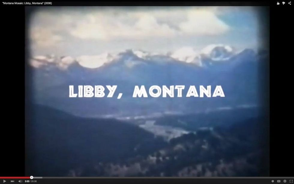 Welcome to Libby, Montana, population 2,691 —  a town forever changed by asbestos.