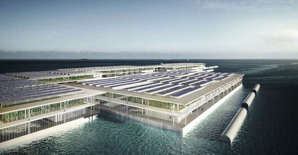 These remarkable floating farms could help feed hungry people around the world.