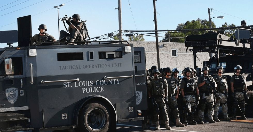 Here's some good news for the nearly half of Americans uneasy about the militarization of police.