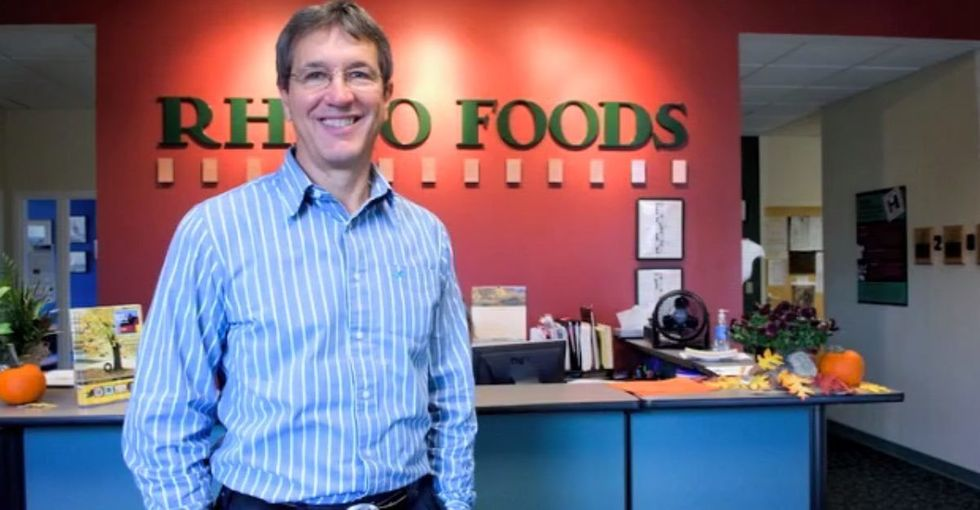 Rhino Foods makes the cookie dough in your ice cream. They also treat their employees like family.