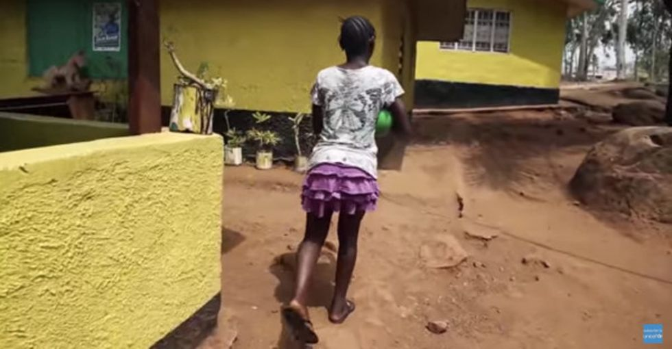 Her parents died of Ebola. Less than a year later, she's thriving.
