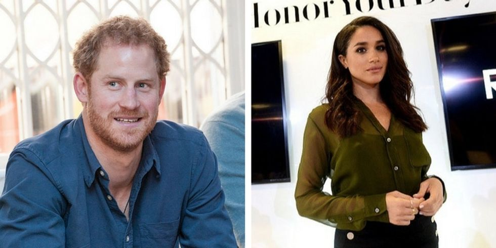 Prince Harry is not happy about how the press has been treating his girlfriend.