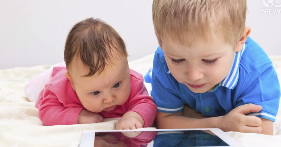 A Few Frightening Reasons Why Babies And Tablets Just Don't Mix